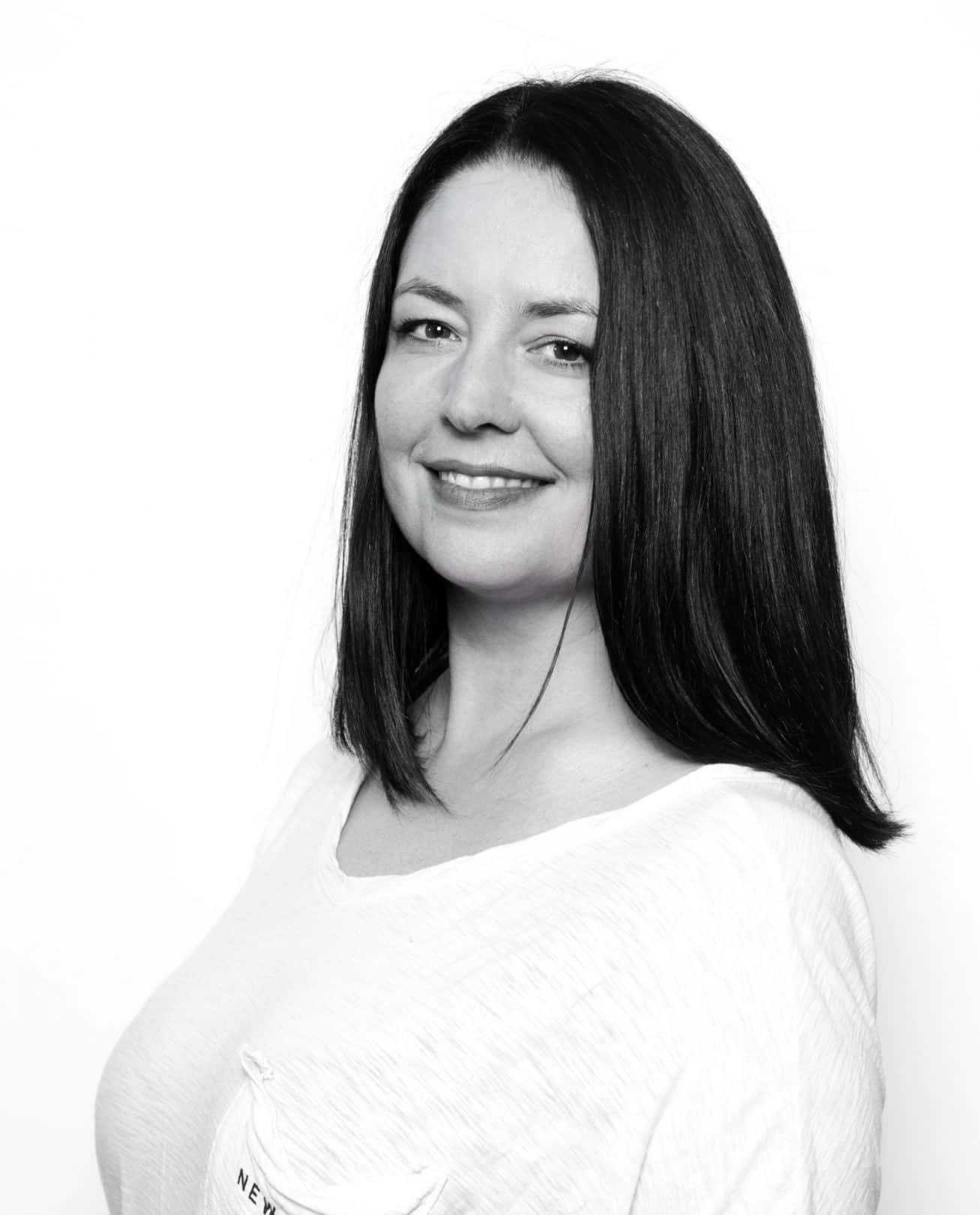 Define frisør Lise Finden. Foto