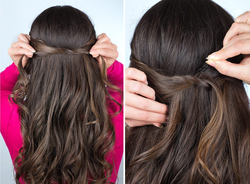 knute på håret