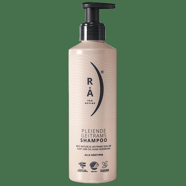Rå pleiende geitrams shampoo. Foto