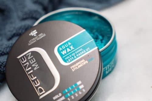 stylingprodukt: aqua wax