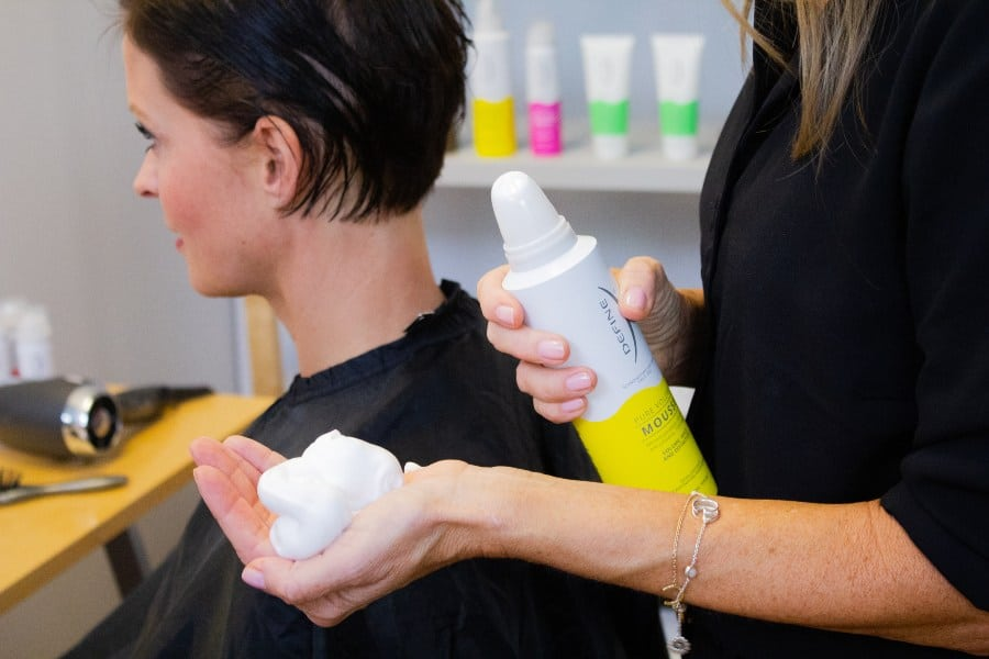 fordele mousse i håret