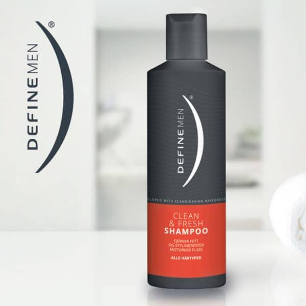Define Men Clean & Fresh Shampoo