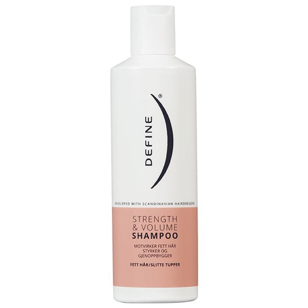 Define Strength & Volume Shampoo. Foto